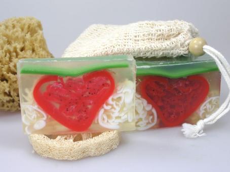 Duftseife Erdbeersahne