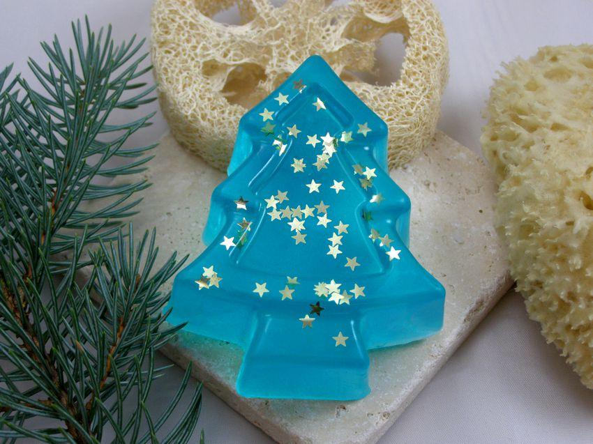 Weihnachtsbaum wintertraum stern in winterseifen online kaufen - Glycerin weihnachtsbaum ...